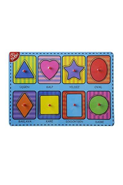 Ahşap Puzzle Şekiller 30x21,5x0,8 Cm