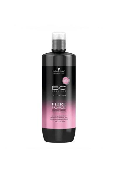 Işlem Görmüş Saçlar Için Bakım Şampuanı 1000 ml - Fibre Force Keratin Shampoo 4045787347791