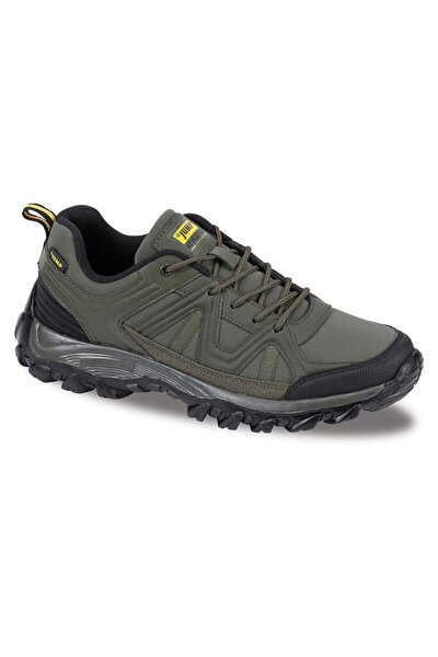 Erkek Haki Bağcıklı Sneaker 25509 D