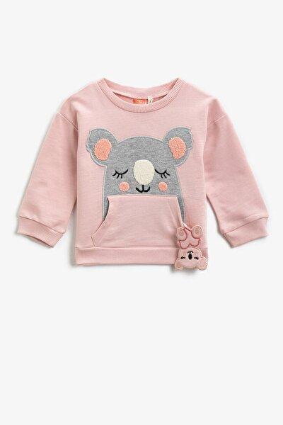 Pembe Kız Bebek Sweatshirt