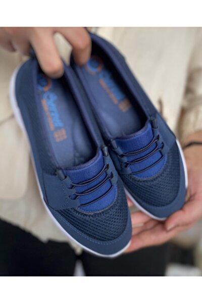 Lacivert Ortopedik Günlük Ayakkabı