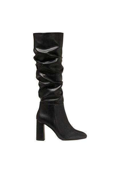 SORAMA Siyah Kadın Ökçeli Çizme 100582125