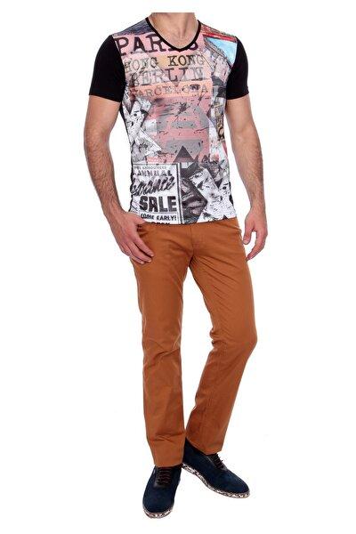 Erkek Camel Slim Fit Spor Pantolon P 907