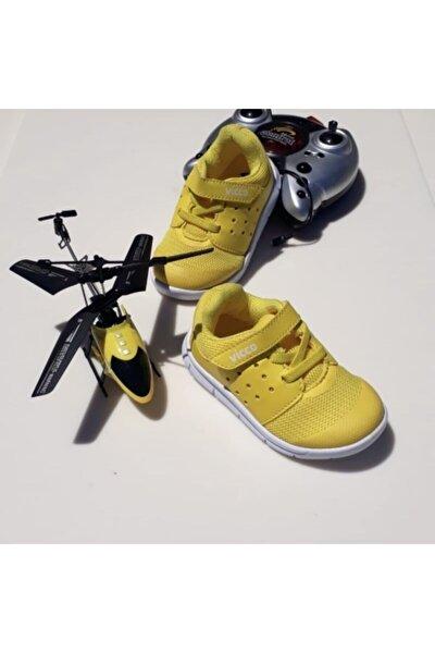 190 Sarı Ortopedik Unisex Spor Ayakkabı