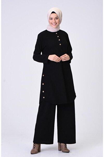 Siyah Tunikli Takım