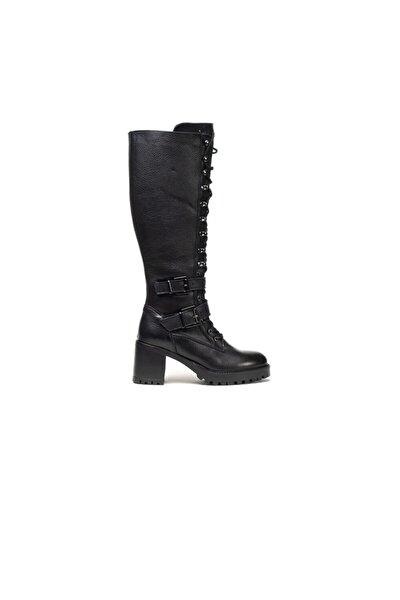 Kadın Sıyah Çizme 0K2UC30063