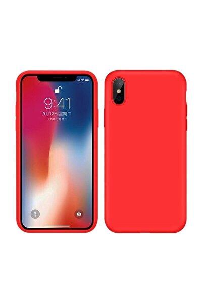 Iphone X/xs Içi Kadife Kırmızı Lansman Kılıf