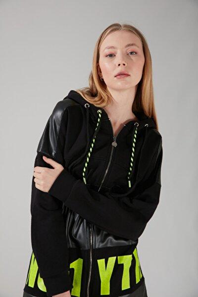 Baskılı Sweatshirt (SİYAH)