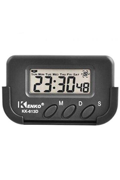 Kk-613d Kronometre Alarm Dijital Küçük Masa Araba Saati