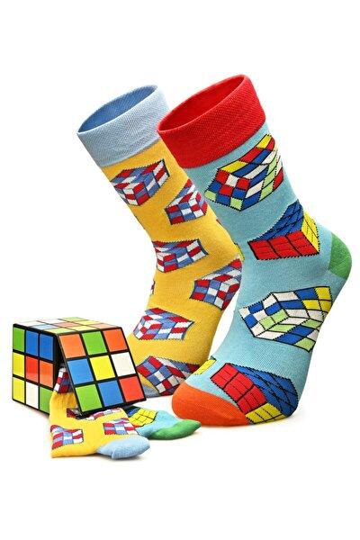 Erkek Rubik Kombin Çorap