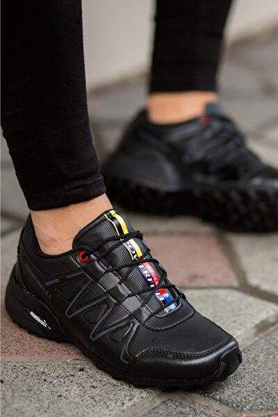 Siyah Cilt Mevsimlik Ayakkabı