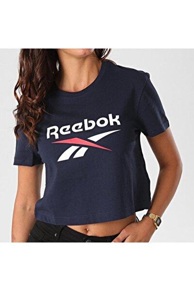 Kadın Ft8181 Cl F Big Logo Kadın Lacivert Tişört