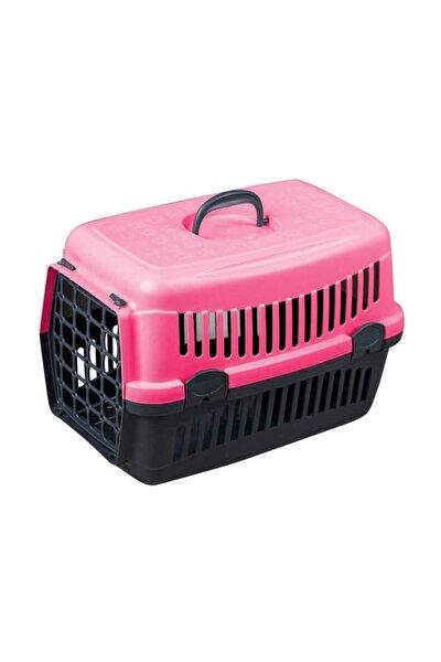 Pembe Kedi Köpek Taşıma Çantası 50x34x33cm