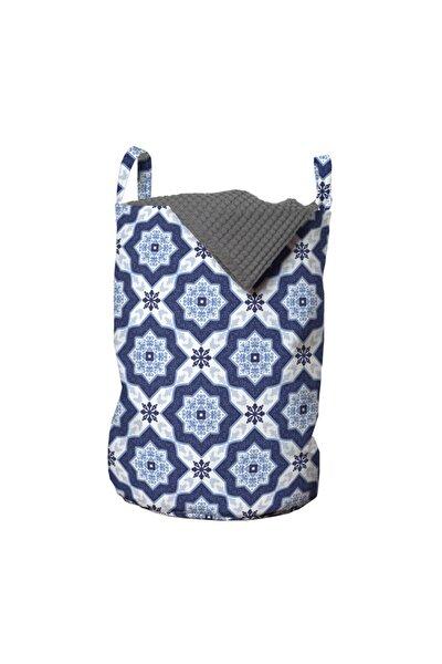 Karo Çamaşır Sepeti Farklı Mandalalarla Yapılan Saray Motifleri