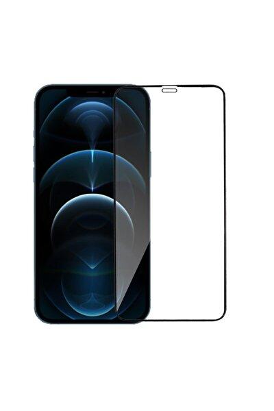 Iphone 12 Pro Max Siyah Mat Seramik Ekran Koruyucu ''parmak Izi Ve Hava Kabarcığı Bırakmaz''
