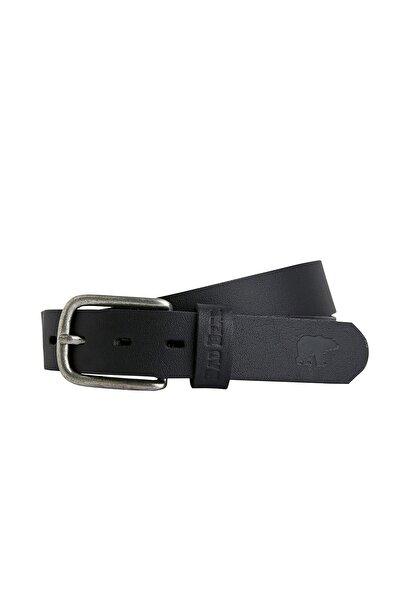 Spırıt Belt Siyah Deri Kemer