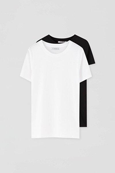Basic Beyaz T-Shirt Paketi