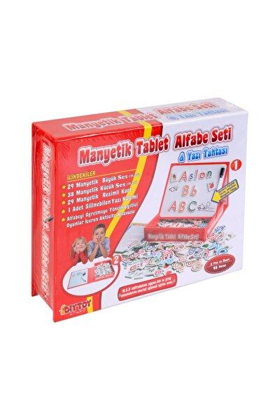 Diy-toy Manyetik Tablet Alfabe Seti & Yazı Tahtası 98 Parça