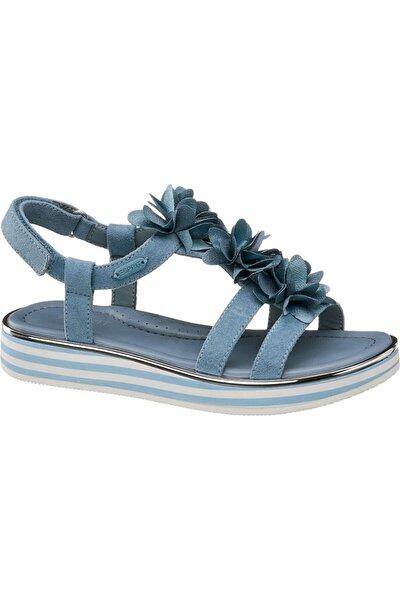 Kız Çocuk Mavi Sandalet