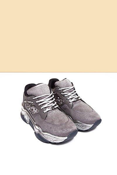 PC-30420 Platin Kadın Spor Ayakkabı