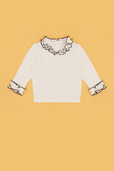Kız Bebek Ekru T-shirt 20fw0bg2533