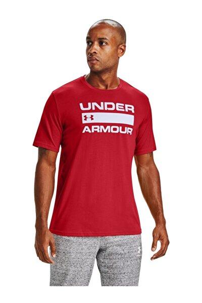 Erkek Spor T-Shirt - Ua Team Issue Wordmark Ss - 1329582-608