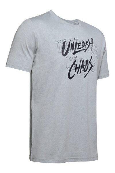 Erkek Spor T-Shirt - Ua Unleash Chaos Tee - 1351297-011
