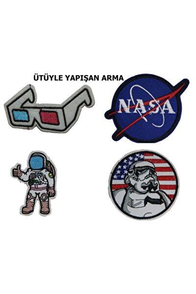 Nasa Uzay Serisi Patch Yama Arma Sticker
