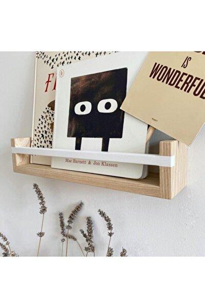 Ahşap Dekoratif Montessori Kitaplık Iç Mekan Ve Çocuk Odası Duvar Rafı