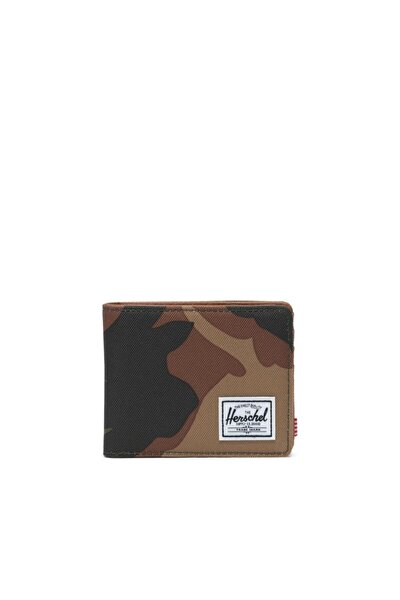 Herschel Supply Cüzdan Hank Rfıd Woodland Camo