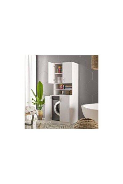Ars Grup Mira Çamaşır Makinesi Dolabı Banyo Doılabı Ars 44044