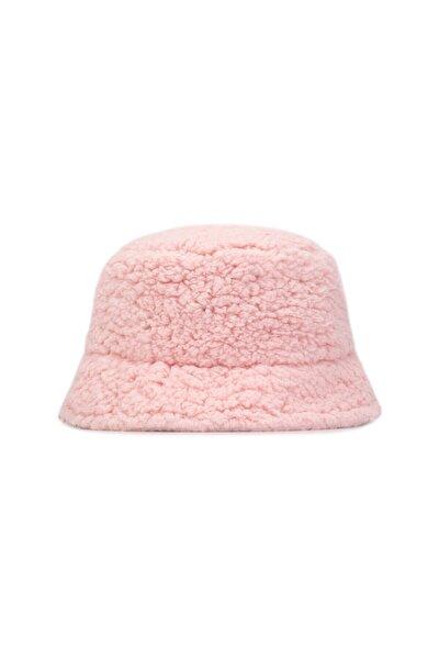 Unisex Şapka Sherpa Candy Pink Bucket Hat