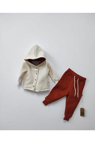 Unisex Bebek Ve Çocuk %100 Pamuk Eşofman Takımı