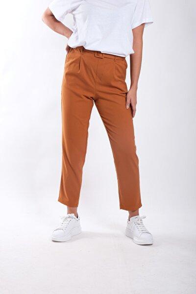 Kadın Kemelrli Havuç Pantolon