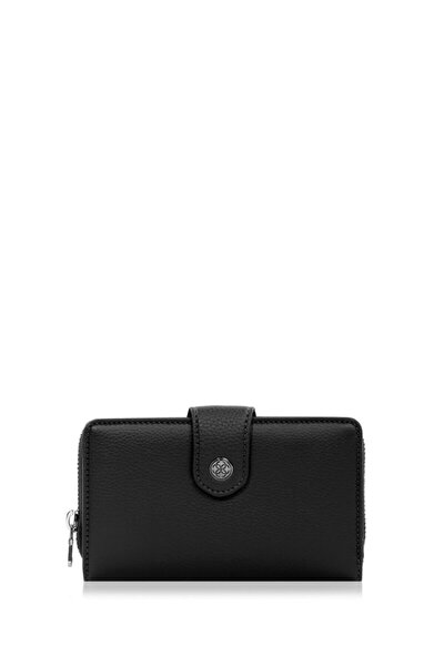 Kadın Cüzdan-portföy 65231m Maddy-siyah
