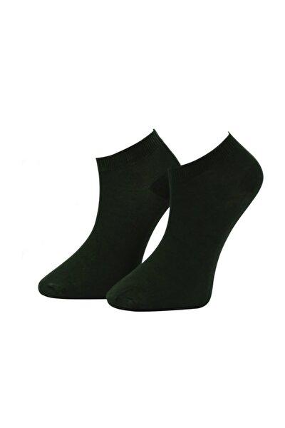 Erkek Siyah Bambu Dikişsiz Soket Kısa Çorap 6 Çift