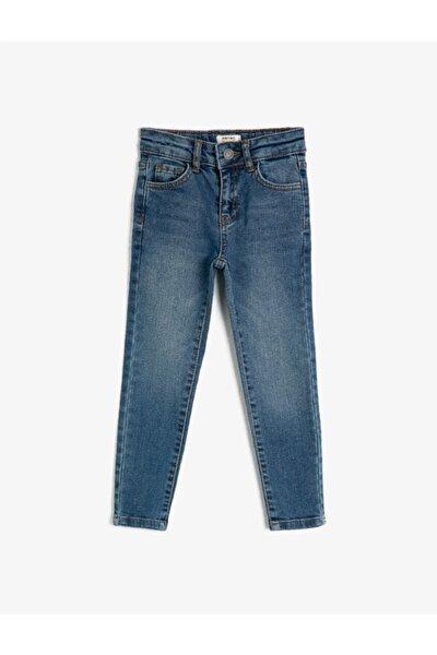 Erkek Çocuk Mavi Jeans 1kkb46170ldmıd