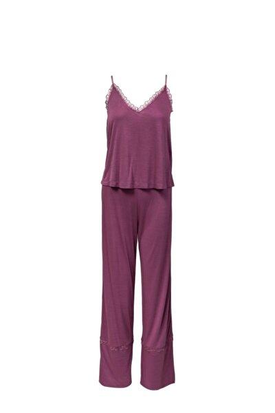 Sılvıa Yumuşak Viskon Pijama Takımı Soft Pembe