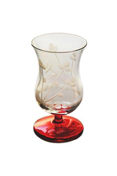 Papatya (Kırmızı) Gala Çay Ve Kahve Bardağı 4 Adet