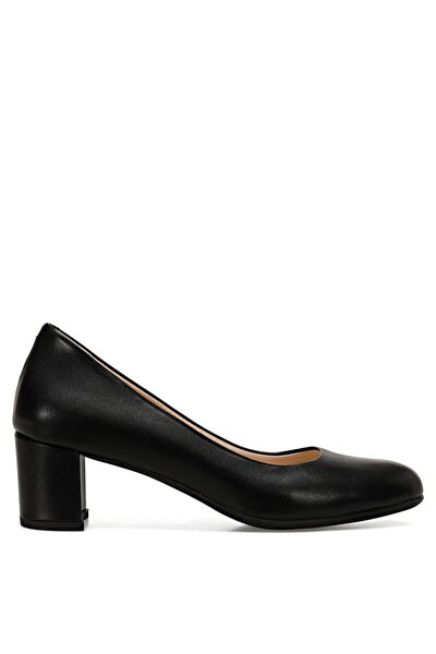LELAN Siyah Kadın Klasik Topuklu Ayakkabı 100526569