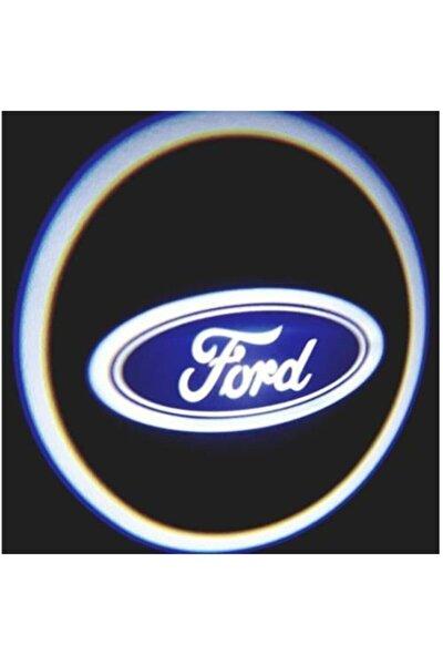 Ford Pilli Mesafe Sensörlü Kapı Altı Logo Yapıştırmalı