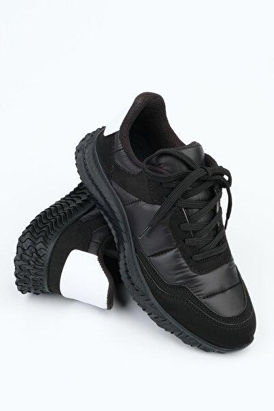 Livan Kadın Sneaker Spor Ayakkabısiyah