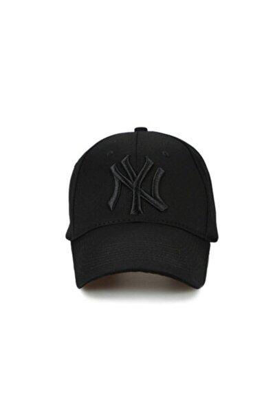 Ny New York Unısex Siyah Şapka