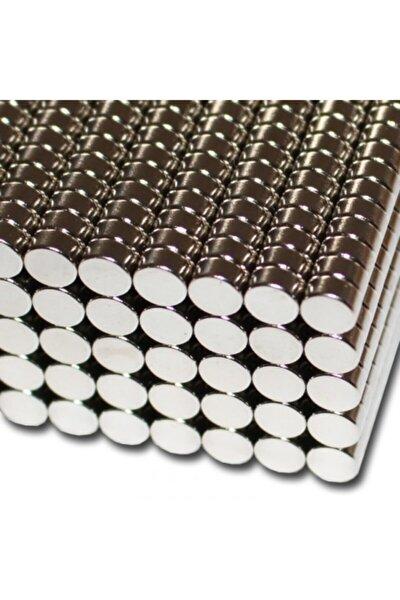 10 Adet 6mm X 3mm Yuvarlak Güçlü Neodyum Mıknatıs Magnet
