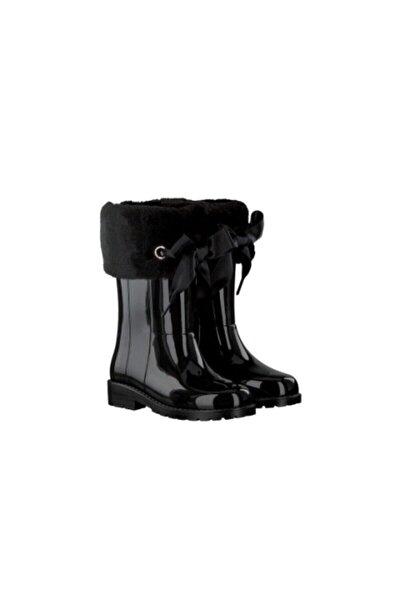 Kız Çocuk Siyah Campera Charol Soft  Çizme-w10239