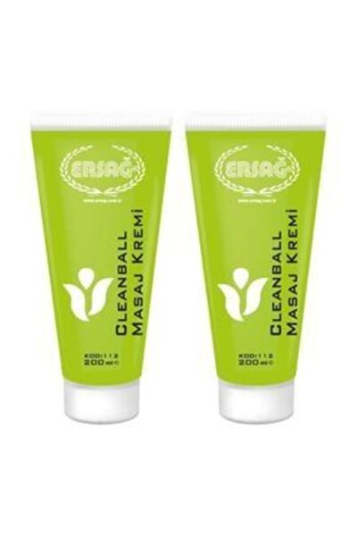 Cleanball Masaj Kremi 2 Adet 200 ml