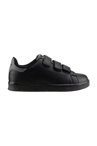 Esnek Unısex Günlük Spor Ayakkabısı - - 19422 - Siyah-gri - 34