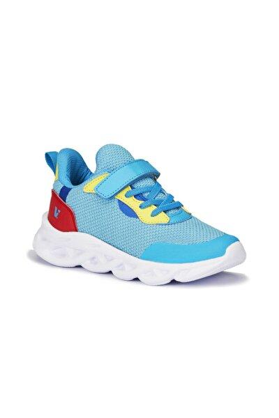 Unisex Çocuk Mavi Ortopedik Spor Ayakkabı