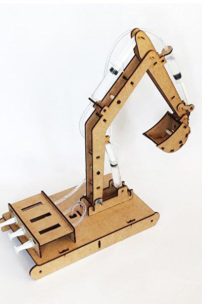 Kendin Yap Ekskavatör Kepçe Seti - Çocuklar Için Robotik Kodlama Setleri