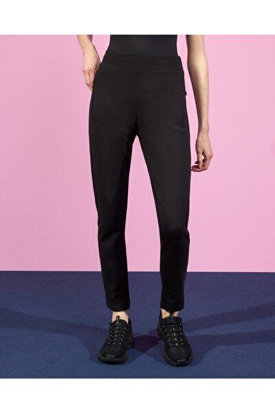 2X I-Lock W Zip Detailed Slim Pant Kadın Siyah Eşofman Altı S202062-001
